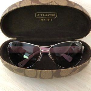 Coach Taylor sunglasses.